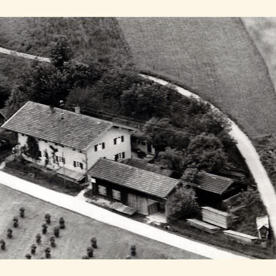 Luftbild vor 1958