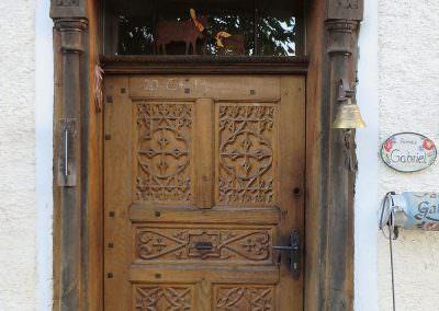 Haustüre in einem Bauernhaus